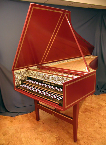 2-manual Harpsichord | Early Music Studio