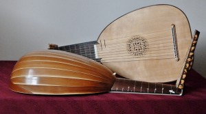 Two Raillich lutes