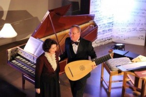 EMS_OAA_concert_Susan and Clive onstage after a Bach Sonata